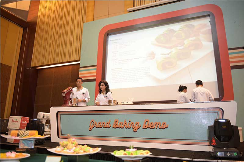 Palmboom Grand Baking Demo bersama PT SMART Tbk.