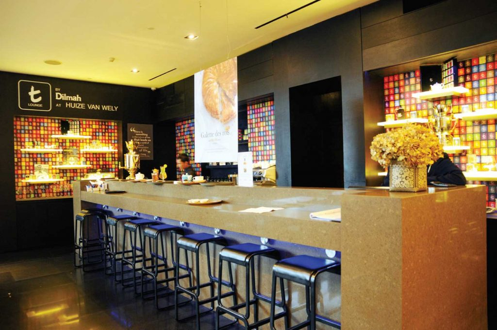 t Lounge by Dilmah, Hadir dengan Konsep High-End Tea Boutique