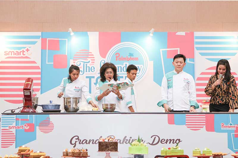 Palmboom Grand Baking Demo